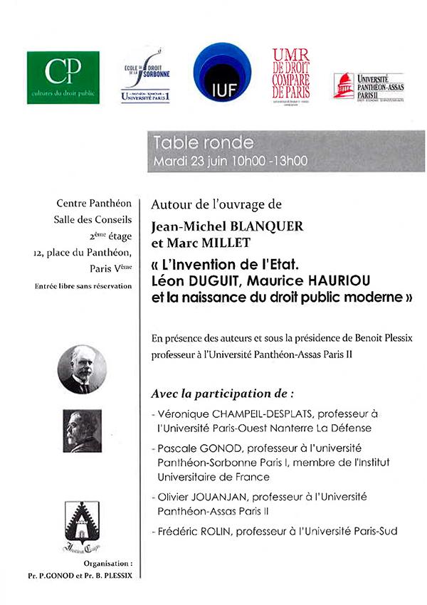Presentation De Cdp Institut Cujas