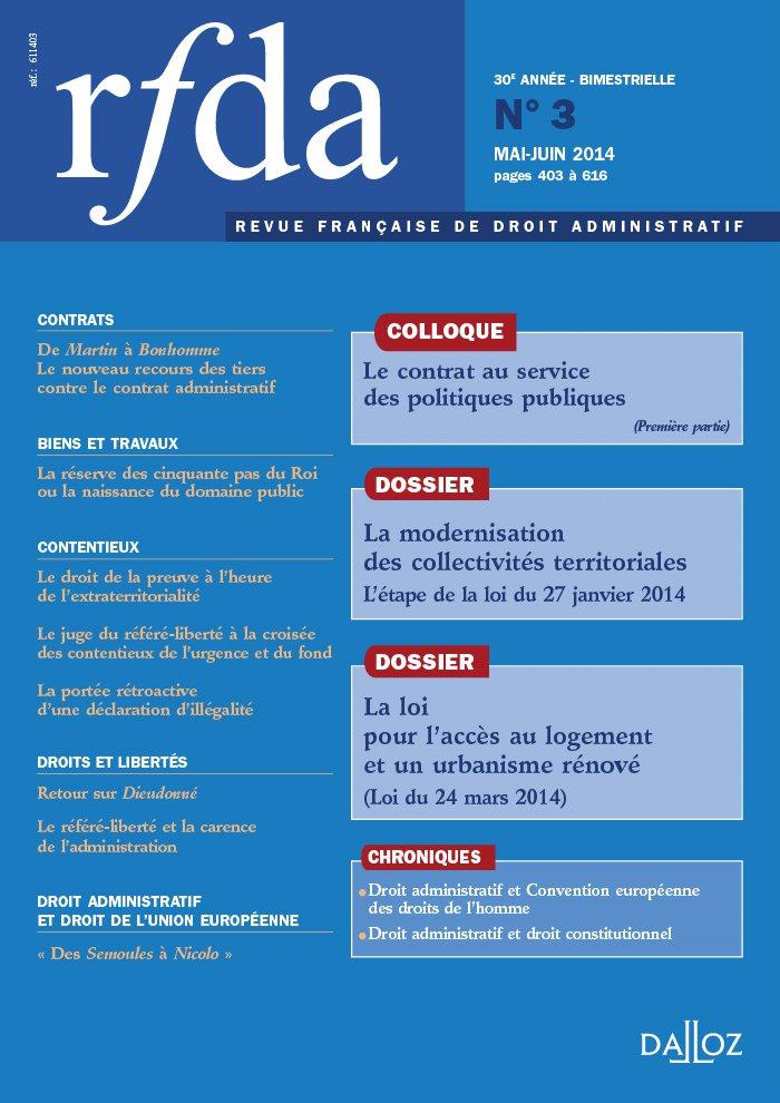 couverture RFDA 2014