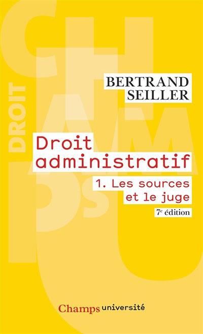 droit administratif - B.SEILLER