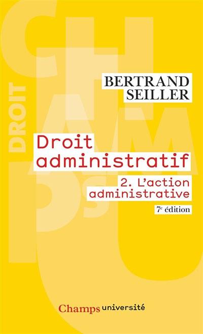 droit administratif tome 2 - B.SEILLER