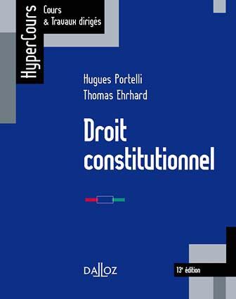 droit-constitutionnel - Ehrhard, Portelli