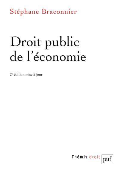 droit-public-de-l-economie - S.Braconnier
