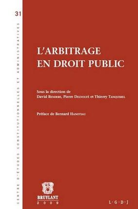 l-arbitrage-en-droit-public - P.DELVOLVE
