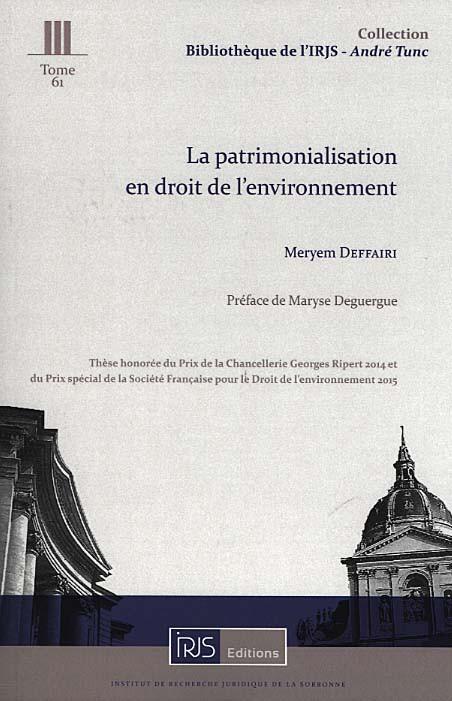 la-patrimonialisation-en-droit-de-l-environnement- M.Deffairi
