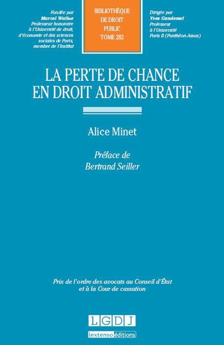la-perte-de-chance-en-droit-administratif - Alice minet