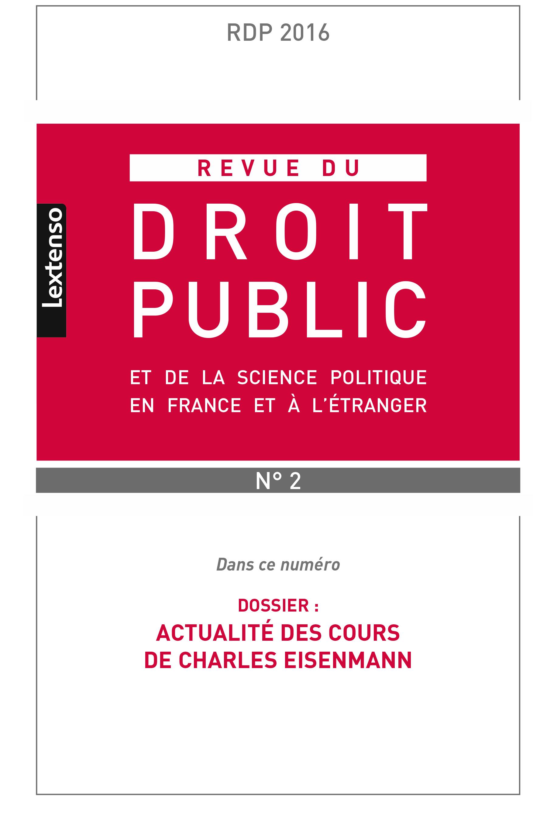 Couverture RDP 2016