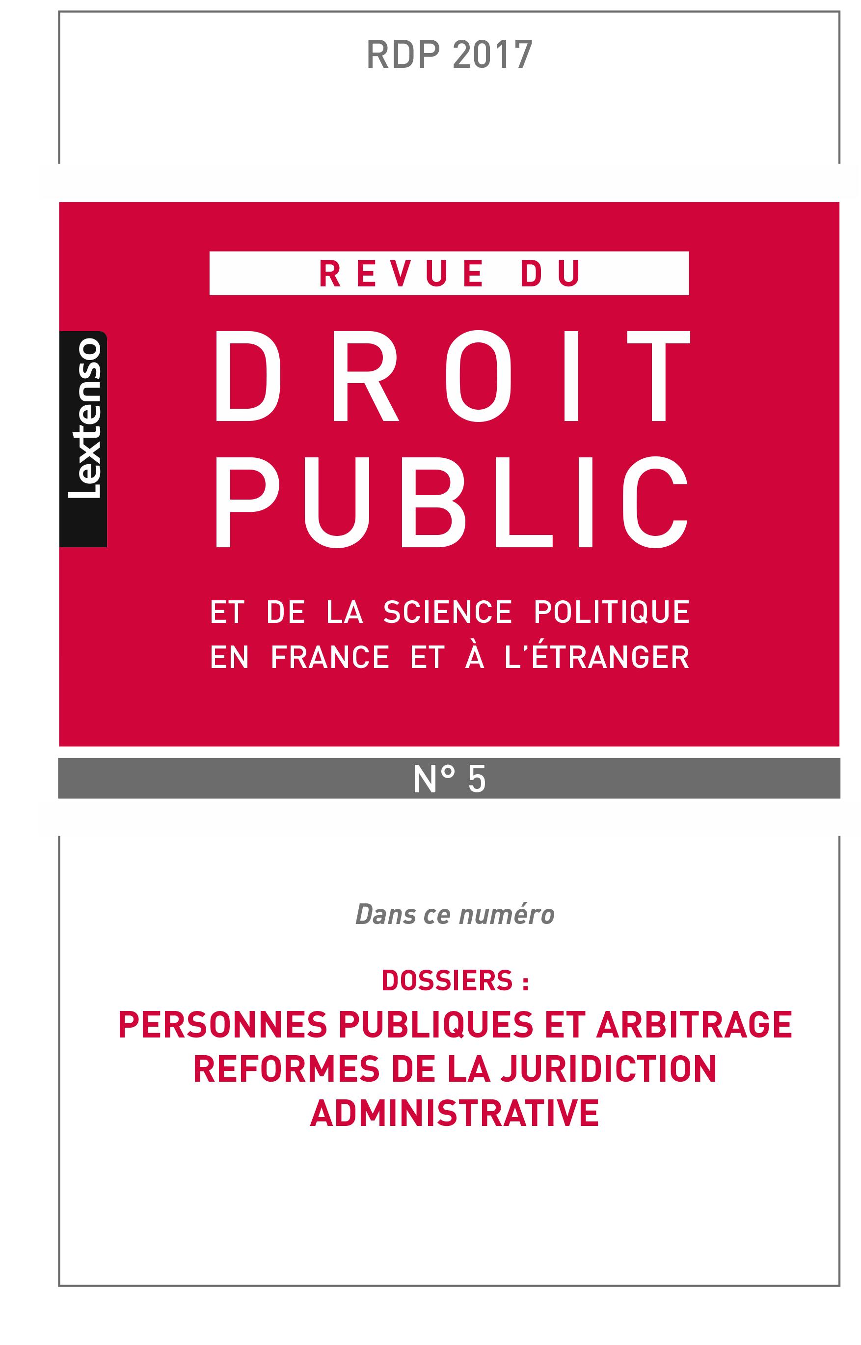 Couverture RDP 2017